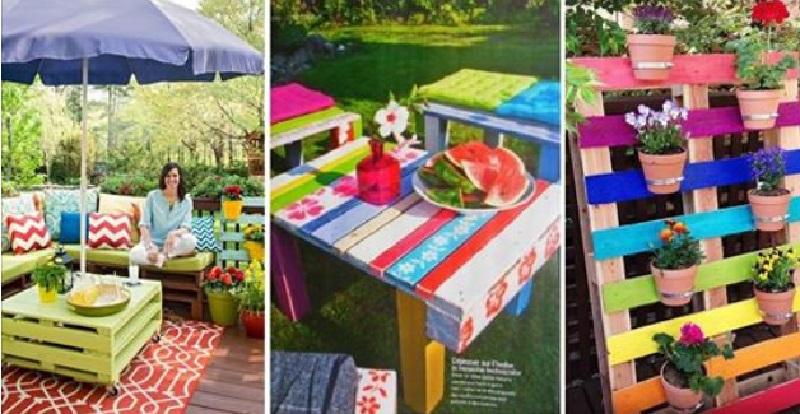 8 magnifiques cr ations pour le jardin faire avec des - Decoration de jardin a fabriquer ...