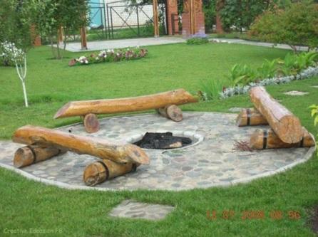 Voici 8 mod les de foyer pour le jardin ils sont tr s faciles faire et pas cher - Foyer exterieur pour jardin ...