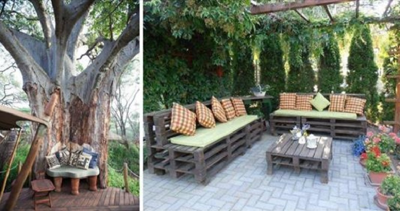 10 id es originales pour am nager un coin d tente dans for Amenager un petit coin terrasse