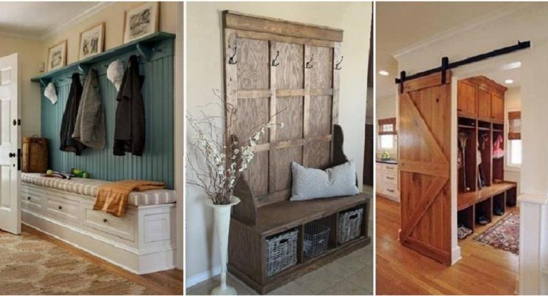 10 magnifiques id es pour d corer un vestibule tout en le for Amenagement vestibule maison