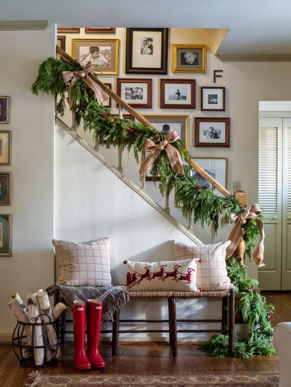 15 idées originales pour décorer votre escalier pour Noël et les ...