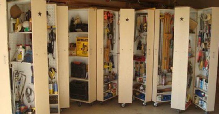 15 id es de rangements pour que votre garage soit la pi ce for Idee rangement garage