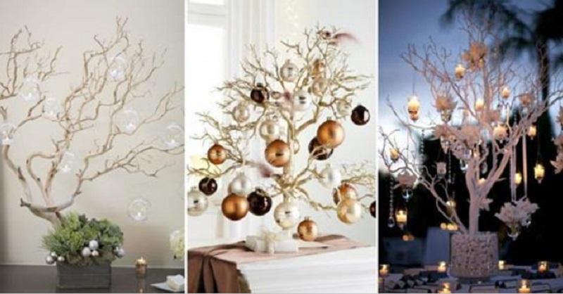 ces 10 branches d cor es sont si belles que vous n 39 aurez plus envie d 39 un sapin. Black Bedroom Furniture Sets. Home Design Ideas