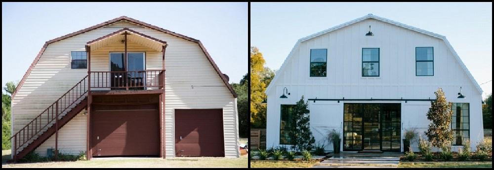 Un couple transforme une vieille grange en une luxueuse maison mais attendez de voir la cuisine for Petite maison luxueuse