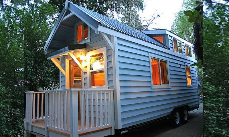 mini maison sur roues avie home. Black Bedroom Furniture Sets. Home Design Ideas