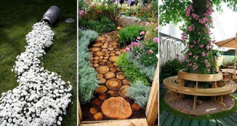10 magnifiques id es pour d corer votre jardin de fa on - Comment decorer son jardin ...