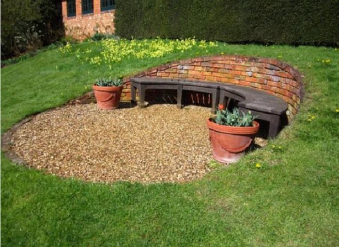 12 id es g niales pour donner une nouvelle touche votre jardin sans d penser une fortune. Black Bedroom Furniture Sets. Home Design Ideas