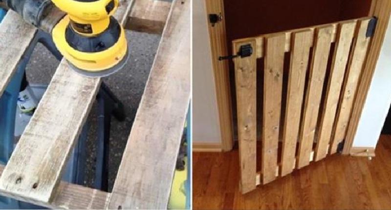 4 mod les de barri re de s curit fabriqu e avec des palettes de bois. Black Bedroom Furniture Sets. Home Design Ideas