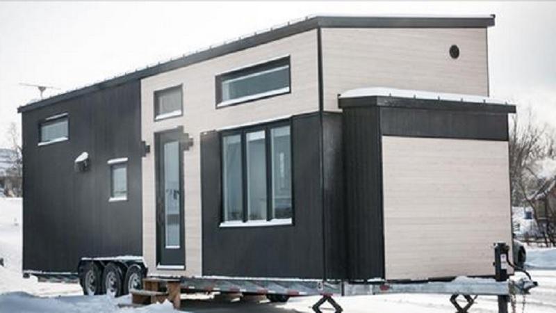 Decouvrez Cette Magnifique Mini Maison Construite Au Quebec L