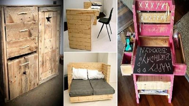 12 projets fabuleux qui nous donnent envie de r cup rer. Black Bedroom Furniture Sets. Home Design Ideas