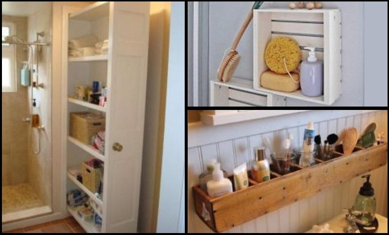 13 rangements astucieux pour votre petite salle de bain - Rangement pour salle de bain ...