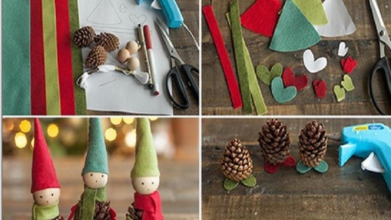 Lutins De Noel à Fabriquer Comment fabriquer de magnifiques lutins de Noël à partir de pommes