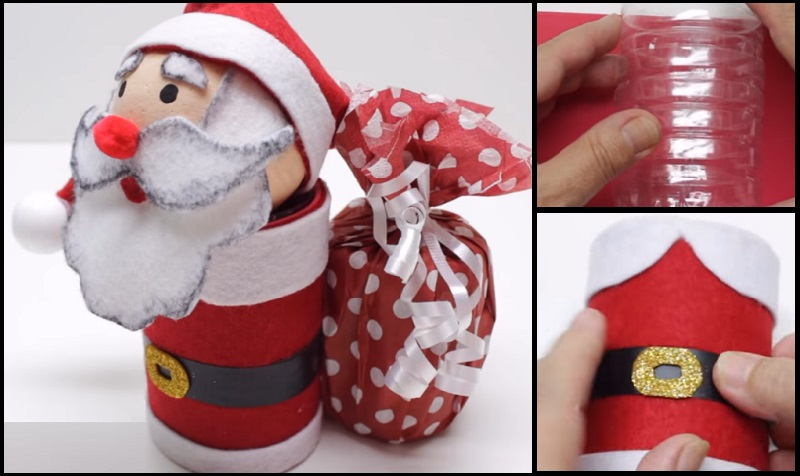Comment fabriquer un Père Noël à offrir en cadeau ? Un bricolage