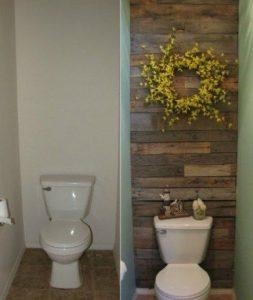 16 fa ons originales de d corer un mur avec du bois de palette - Quel couleur pour une salle de bain ...